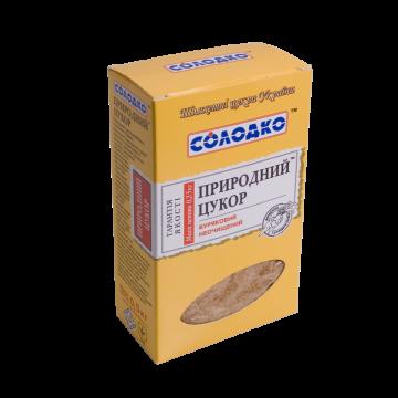 """Сахар природный (500г) """"Солодко"""" нерафинированный"""